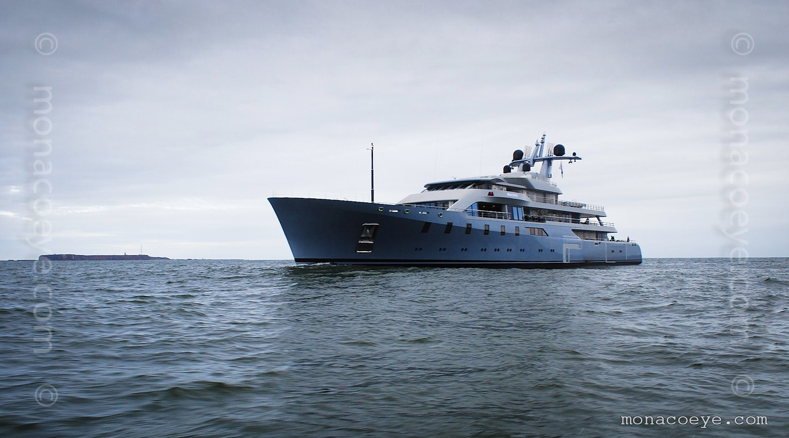 Pacific, built by Lurssen, designed by German Frers, 2010, 85 metres