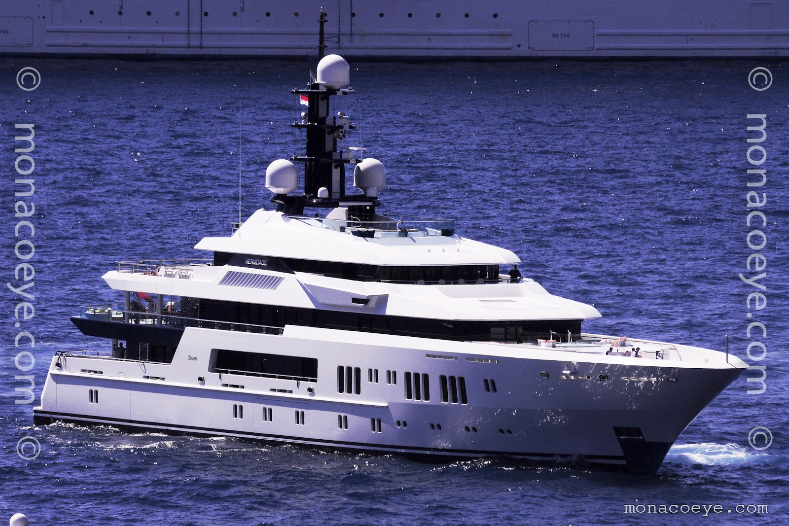Hermitage, 2011 design from Lurssen.