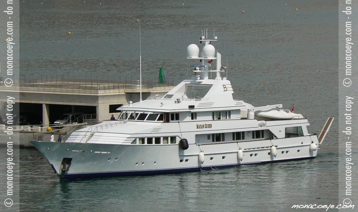 Monaco Yacht Show 2006 - Mayan Queen