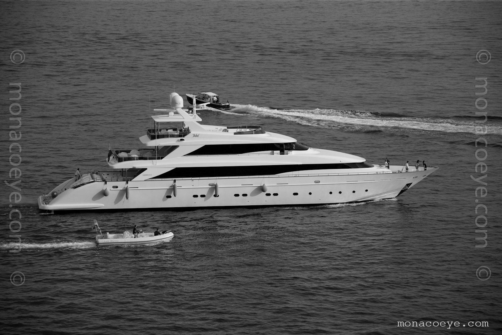 Monaco Yacht Show 2010 - Talal, 45m 2010 motoryacht from Tecnomar. Nadara 45