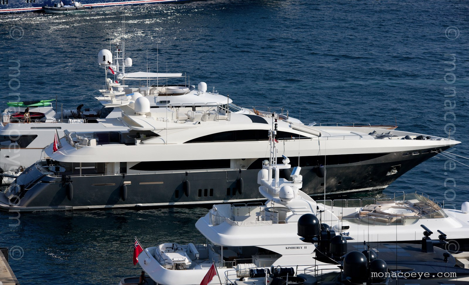 Sierra Romeo. Yacht built by Mondomarine, hull C18, 2008, 42 metres.