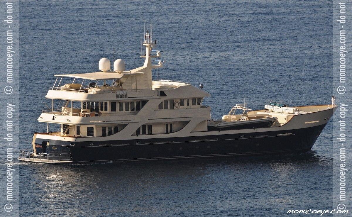Rusalina Exp, yacht