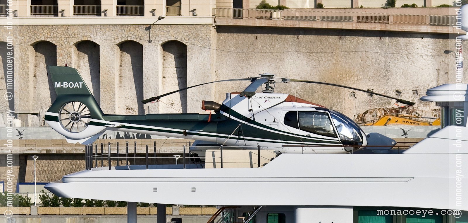 Lady Christine Helicopter