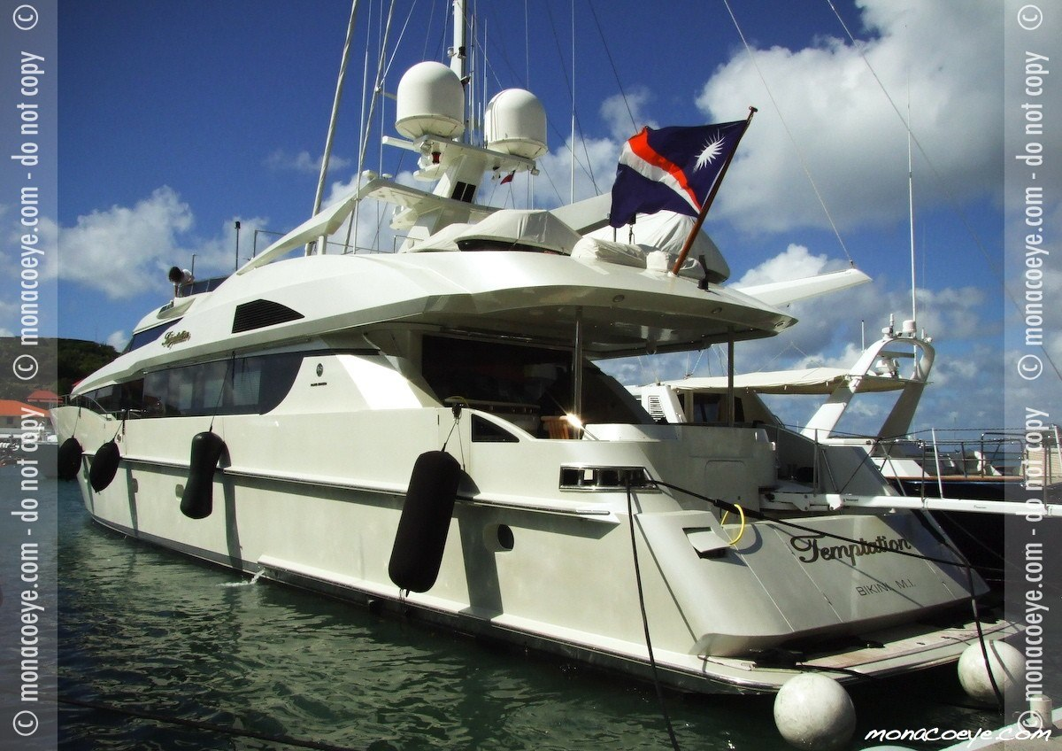 Temptation, yacht