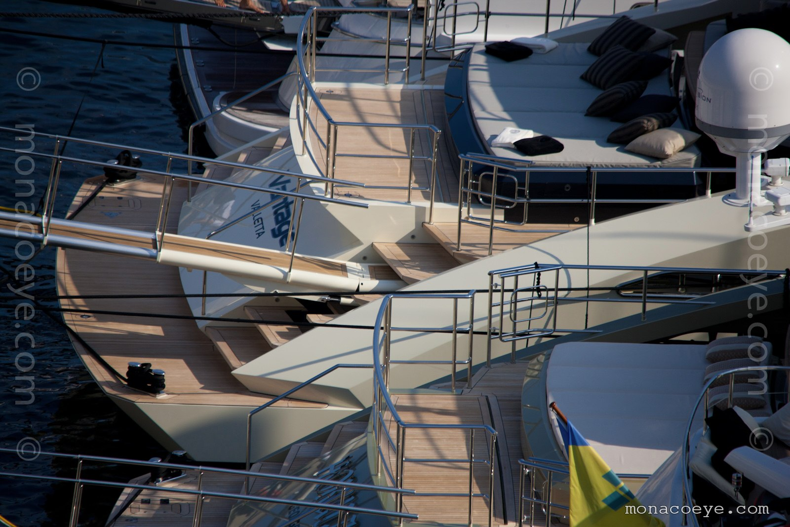 Vantage. Yacht built by Palmer and Johnson, build number 248, 2010, 46 metres. 7th in the 150 ft series, designed by Nuvolari and Lenard.