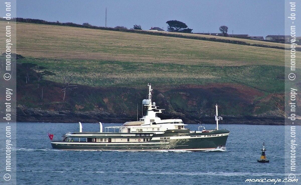 Pendennis, yacht