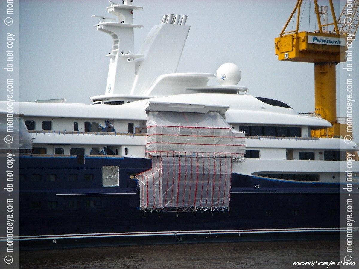 Al Mirqab, yacht