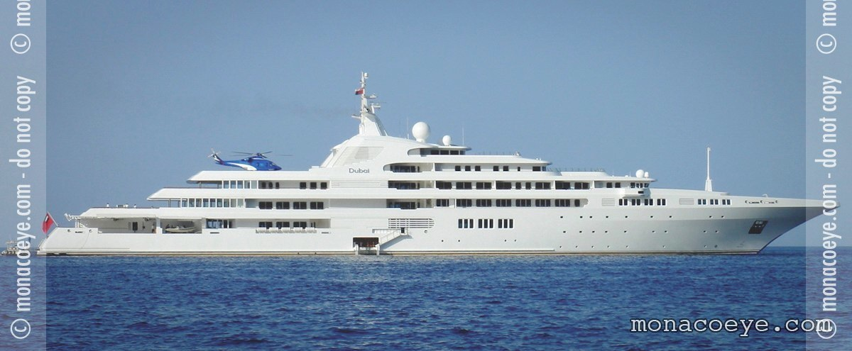 Dubai, the largest yacht in the world