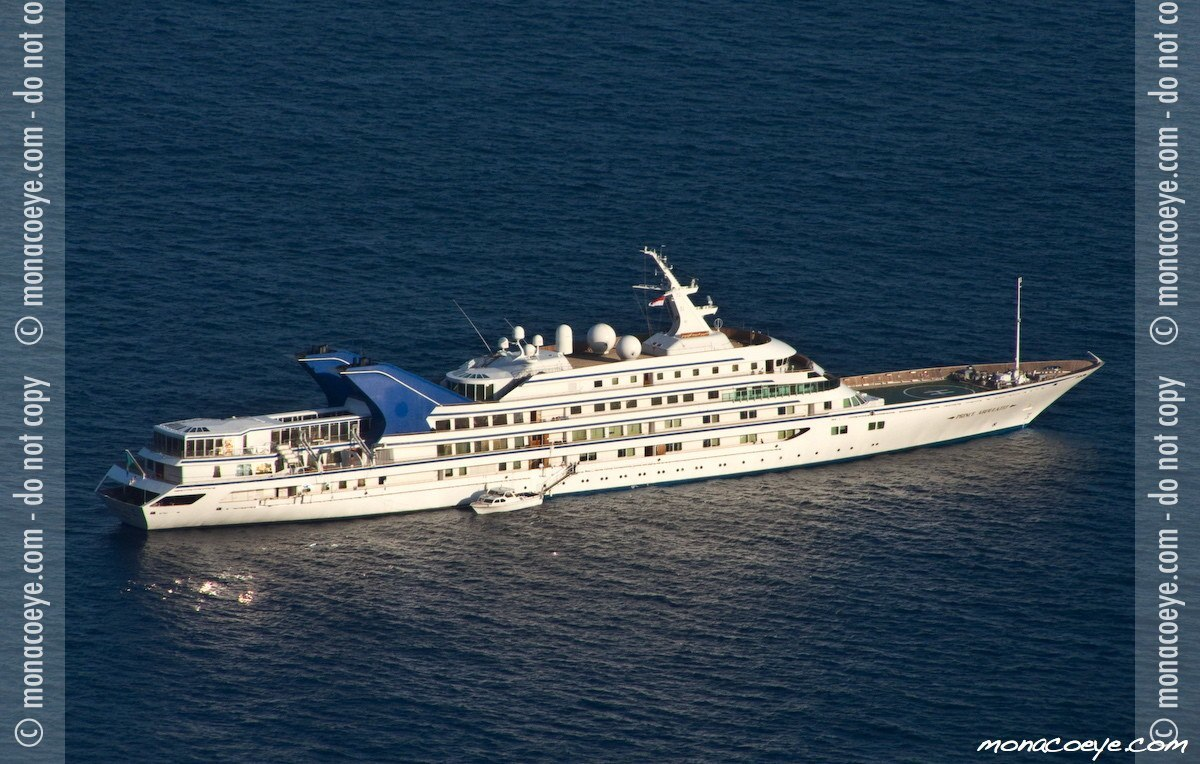 Prince Abdulaziz, yacht