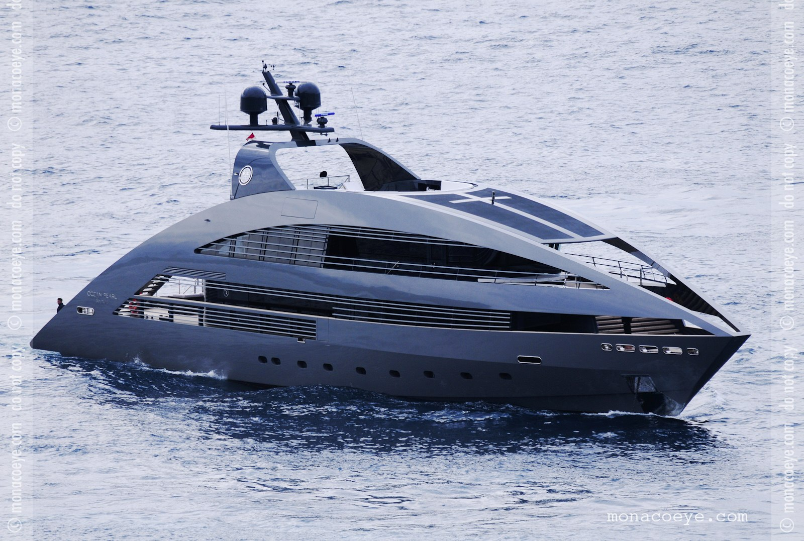 Ocean Pearl - the second yacht in the new Norman Foster designed series