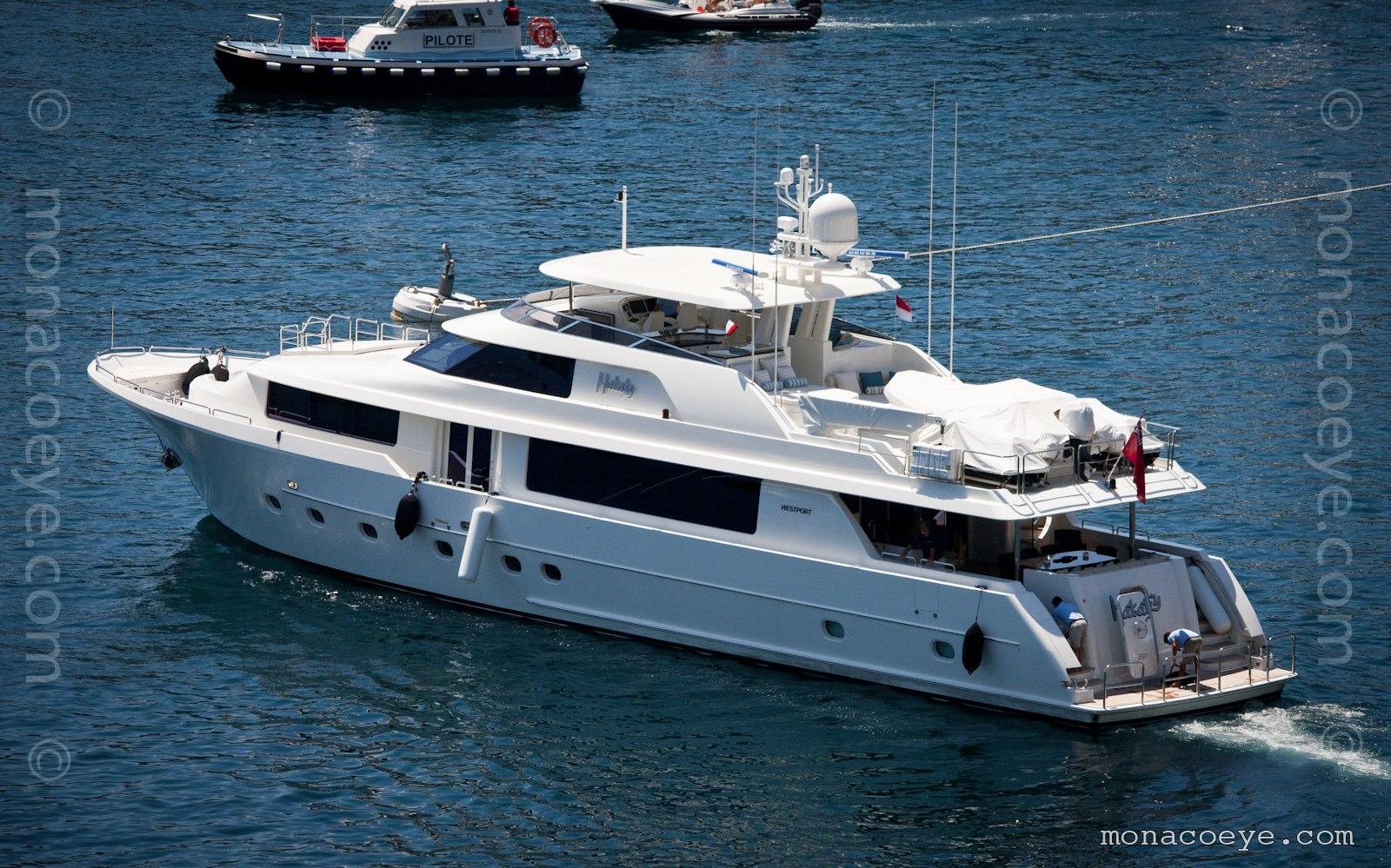 Hataty. Yacht built by Westport, 2010, 34 metres. Westport 112